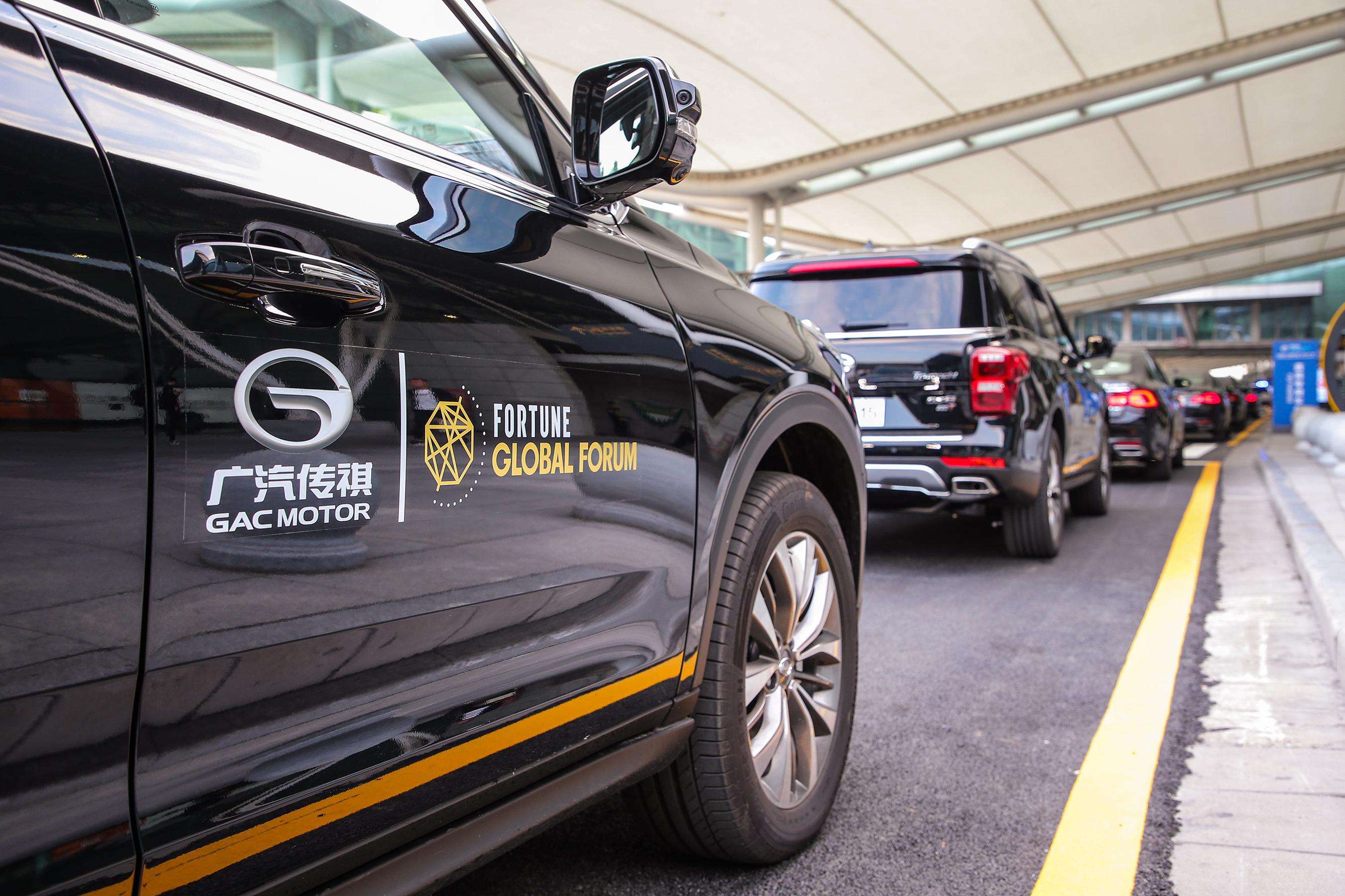 GAC Motor provides 380 cars including GA8 sedan, GS8 SUV and GM8 MPV
