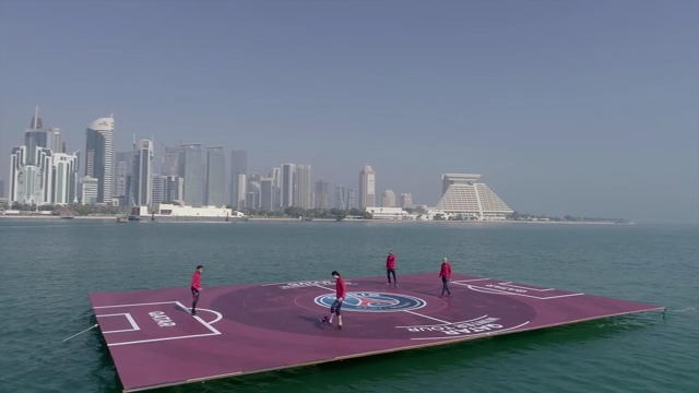 Floating Pitch
