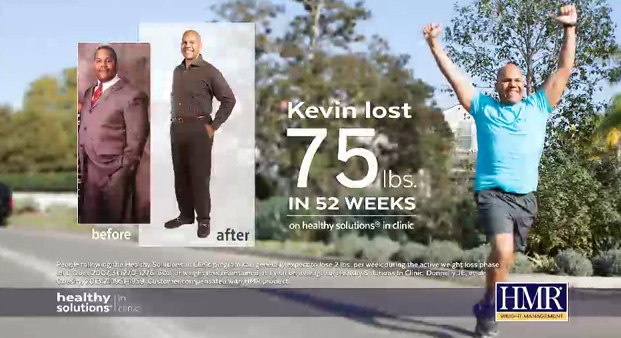 Kevin Lost 75 lbs. in an HMR Clinic