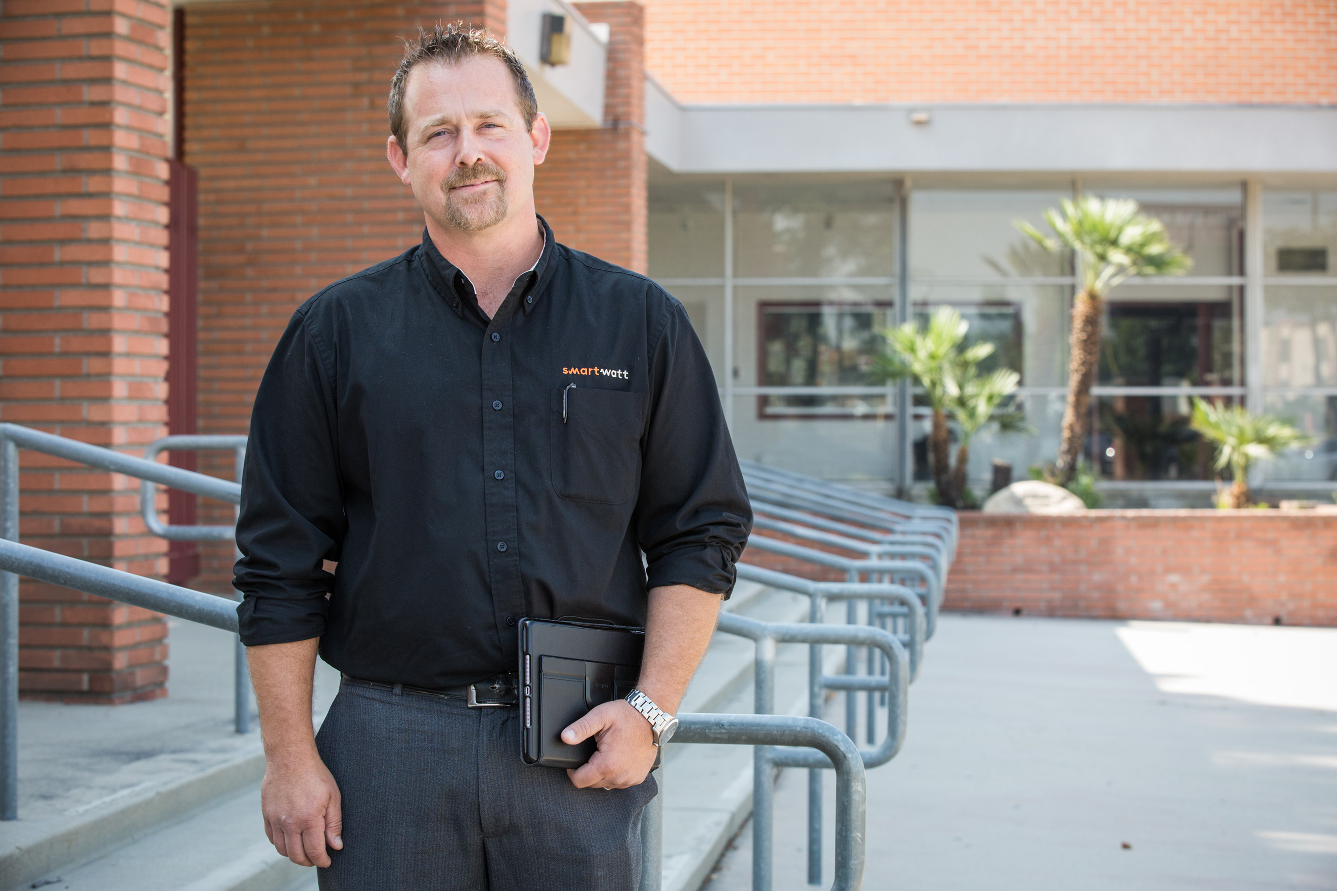 Joshua Veblen, business manager at SmartWatt, an engineering firm focused on energy optimization, worked with Carrier to provide California's Fontana School District a multi-year plan to upgrade more than 200 of its rooftop climate control systems to improve comfort and energy savings at 45 school sites.