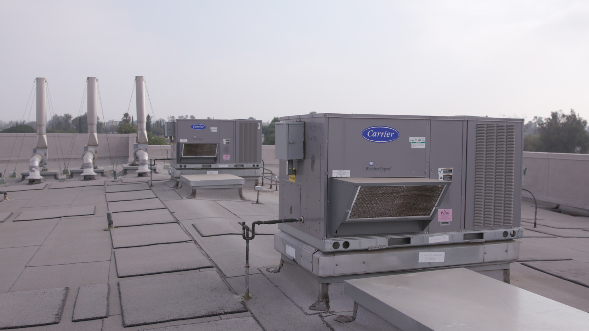 More than 200 new Carrier rooftop units improve comfort and efficiency at 45 sites in California's Fontana School District. The project was recognized by the Department of Energy's Better Building Alliance Program. The district is saving approximately $210,000 in energy costs, an amount that's expected to double when another 200 rooftop systems are installed next summer.
