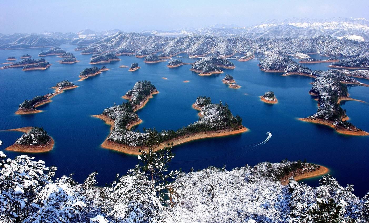 Qiandao Lake in Snow