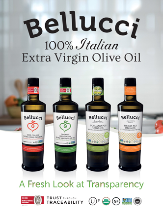 Bellucci EVOO Product Portfolio