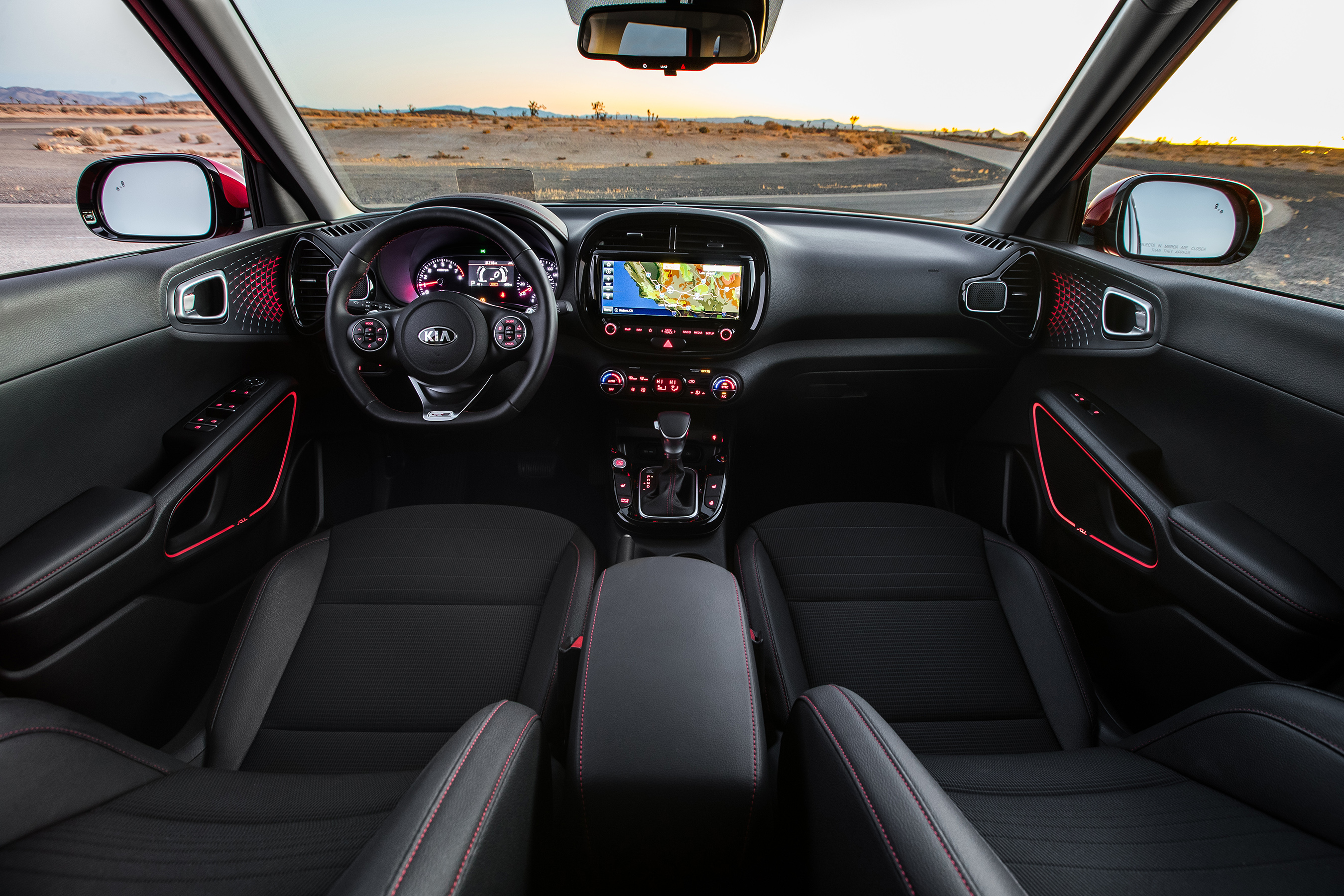 All-new 2020 Soul's technologically advanced cockpit is designed to provide a visceral musical experience.