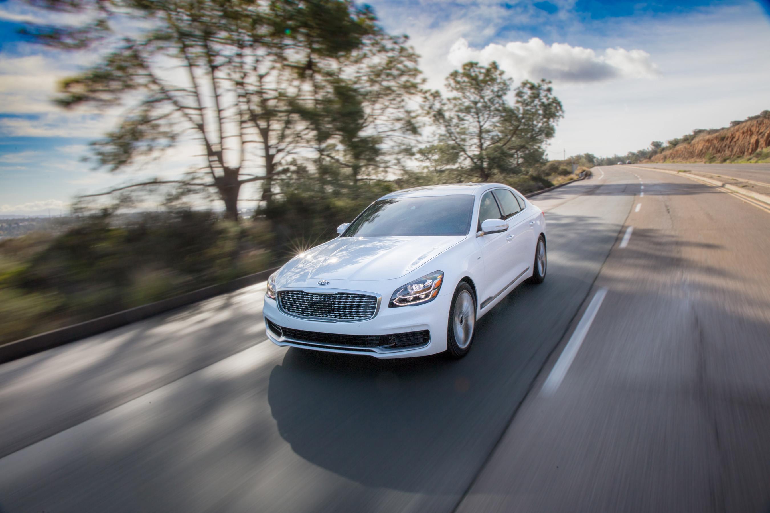 With an array of new systems and safety features, the all-new K900 is the most technologically advanced Kia ever.