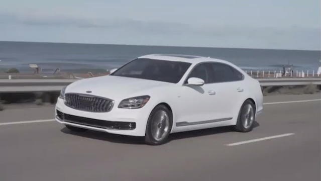 Reimagined 2019 Kia K900 makes global debut at New York Auto Show.