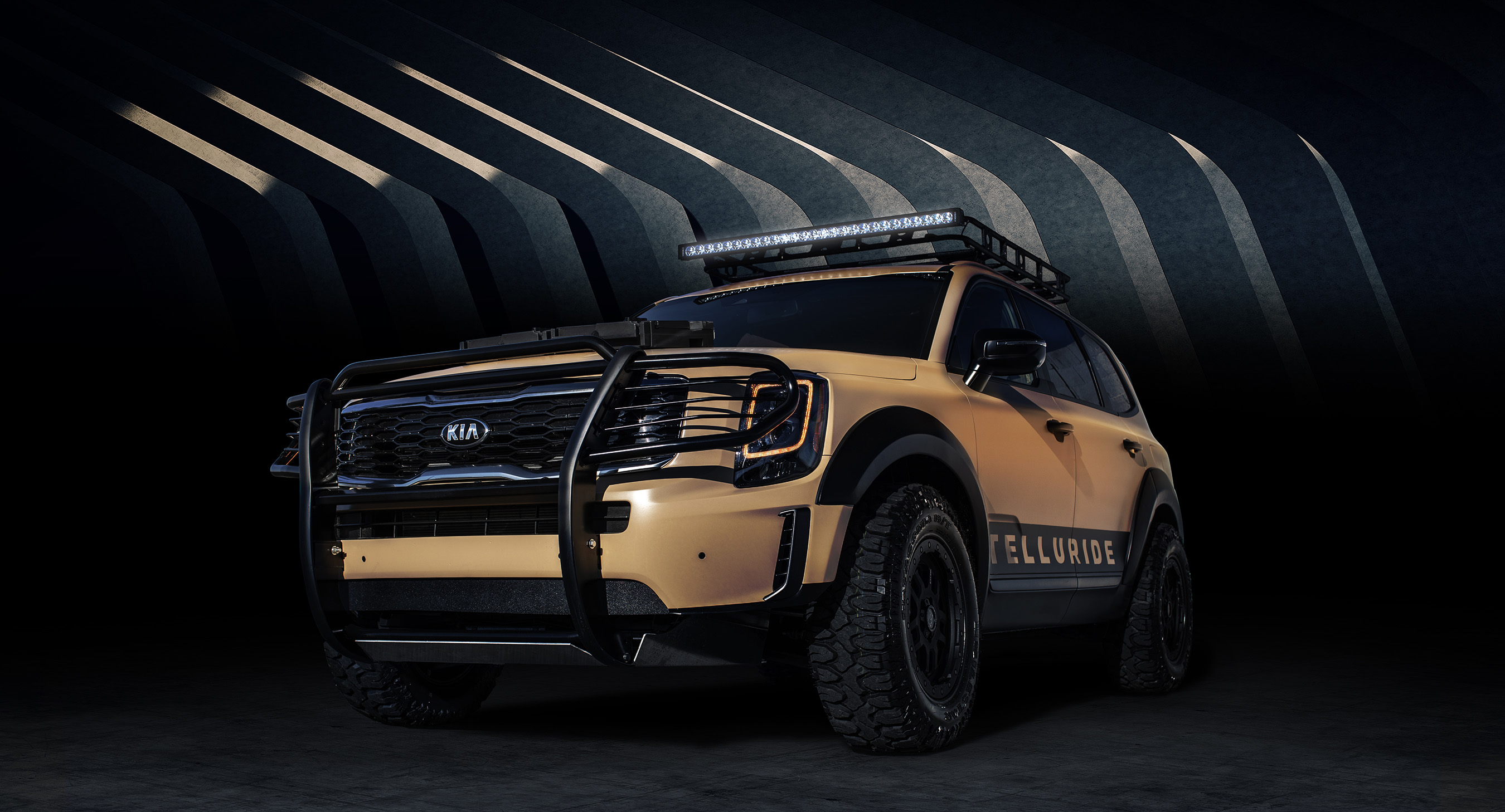 Kia Brings Heart Pounding Horsepower Athletic Luxury And Never Tow Bar Wiring Auto Transform Telluride Desert Drifter Performs In Some Of The Harshest Conditions