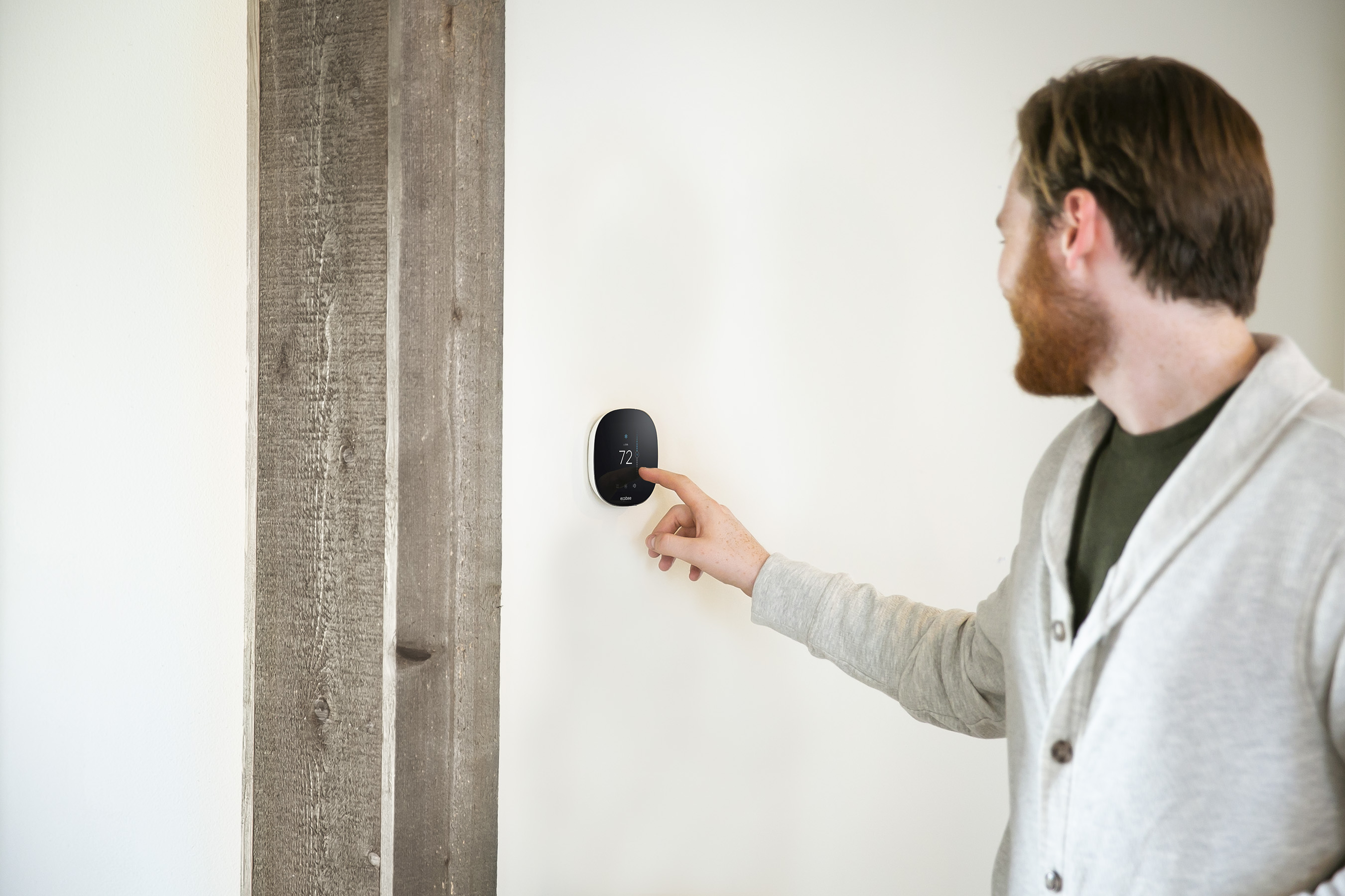 All Clayton Built® homes will come standard with an ecobee3 lite smart thermostat. ecobee4 will be available in select areas as an upgrade.