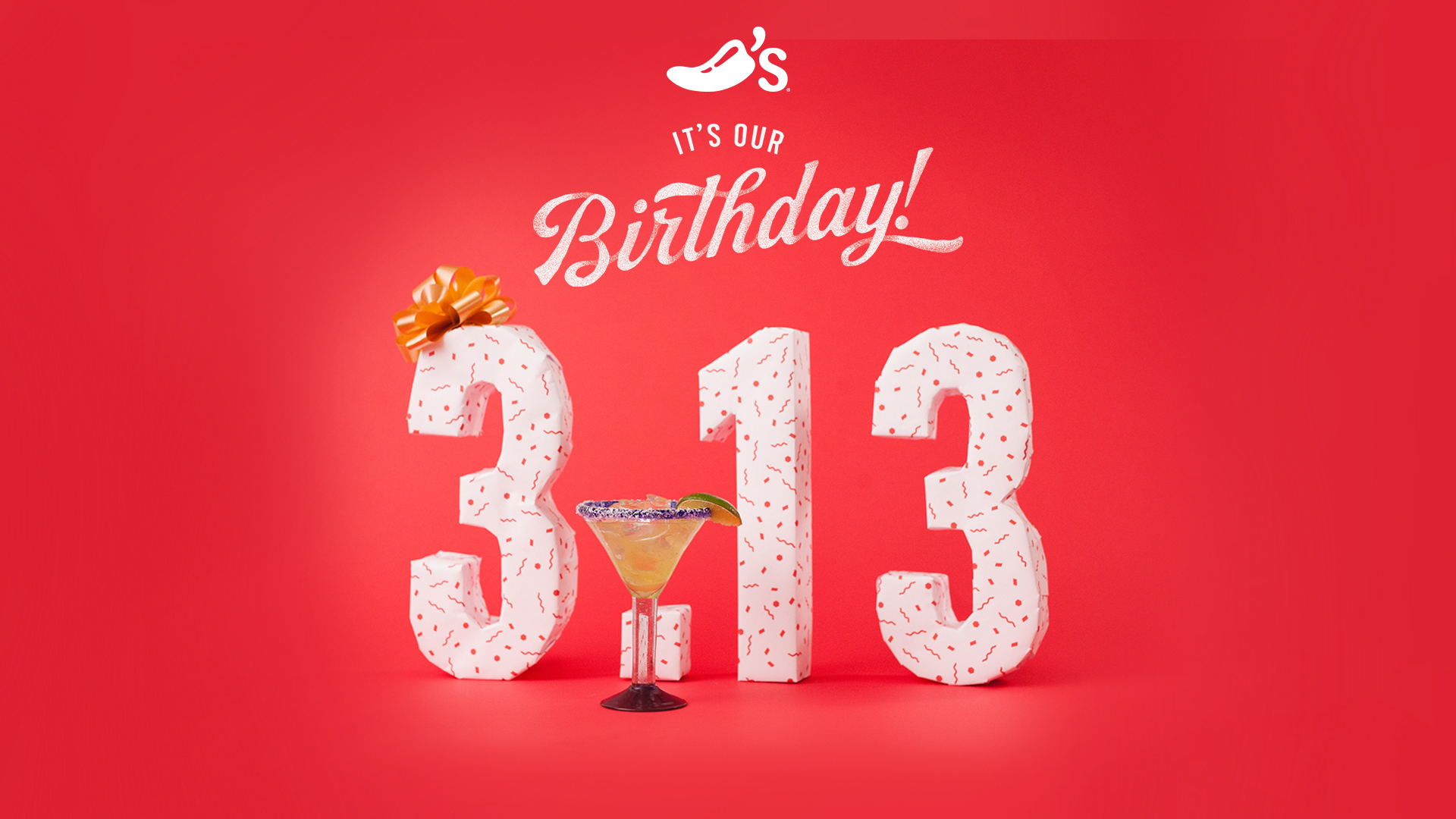 It's #ChilisBirthday on 3/13