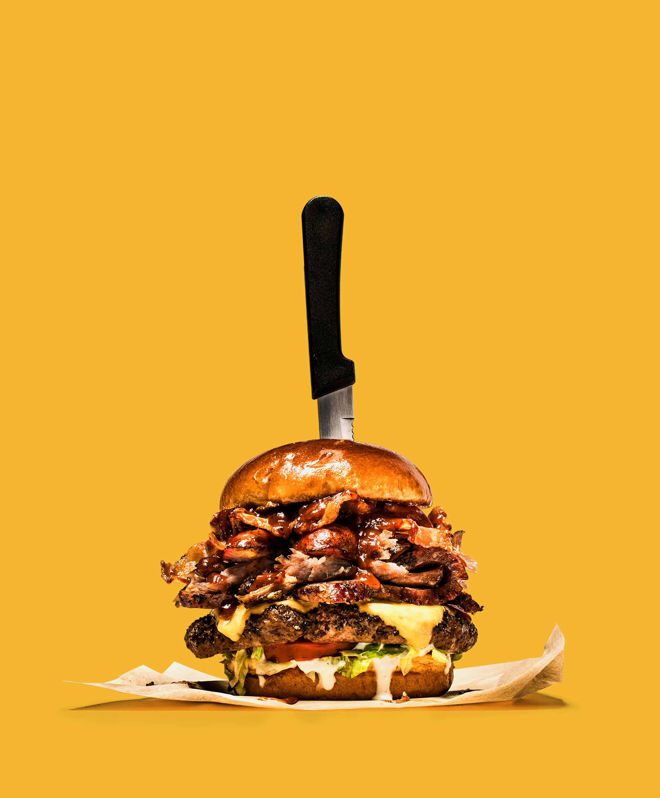 Unhinge your jaw because standing at nearly ½ foot tall, The Boss burger is now available at Chili's restaurants nationwide.