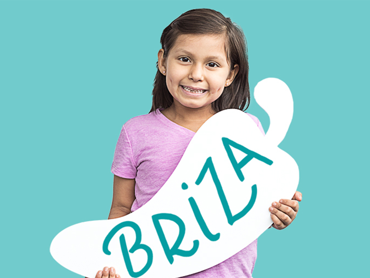 Briza was diagnosed with acute myeloid leukemia in 2015. When you come into Chili's today for our Create-A-Pepper campaign, you can help support kids like Briza at St. Jude for only $1.