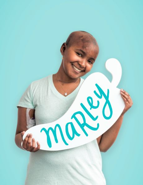 Marley has been a patient at St. Jude Children's Research Hospital® since 2015, when she was diagnosed with ependymoma. Create-A-Pepper, so you can help support kids like Marley at St. Jude.