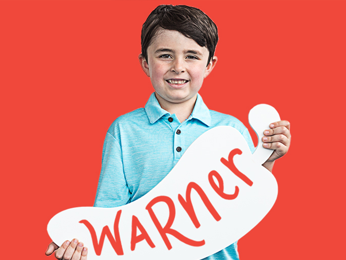 Warner was diagnosed with acute lymphoblastic leukemia when he was only two. When you come into Chili's and Create-A-Pepper, you can help support kids like Warner at St. Jude for only $1.