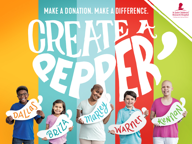 Chili's Guests can make a child's world more colorful during the annual Create-A-Pepper campaign.
