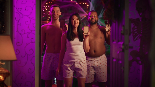 This Halloween, slip on your boxers and hold up that cardboard cell and get ready to welcome people to Chili's all night long!
