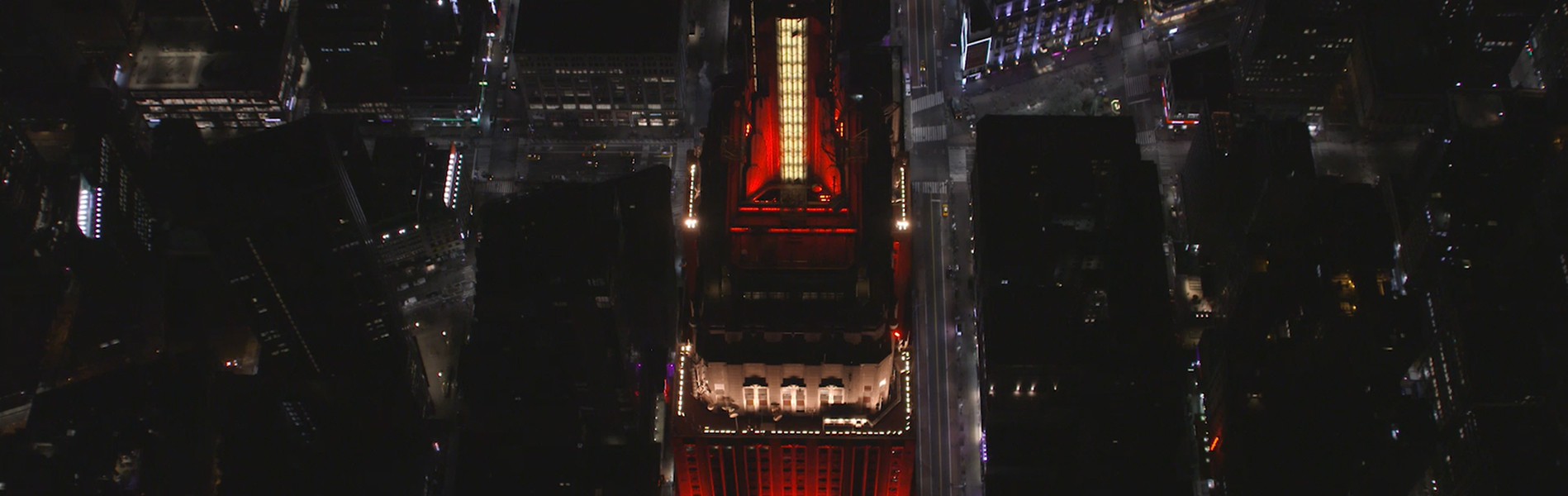 Empire State Building displays country colors for 2018 World Cup.