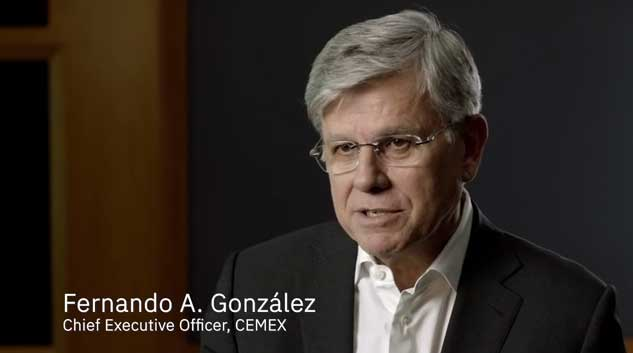 The CEMEX Go digital platform grew to 96% of the company's total recurring customers in just 19 months.