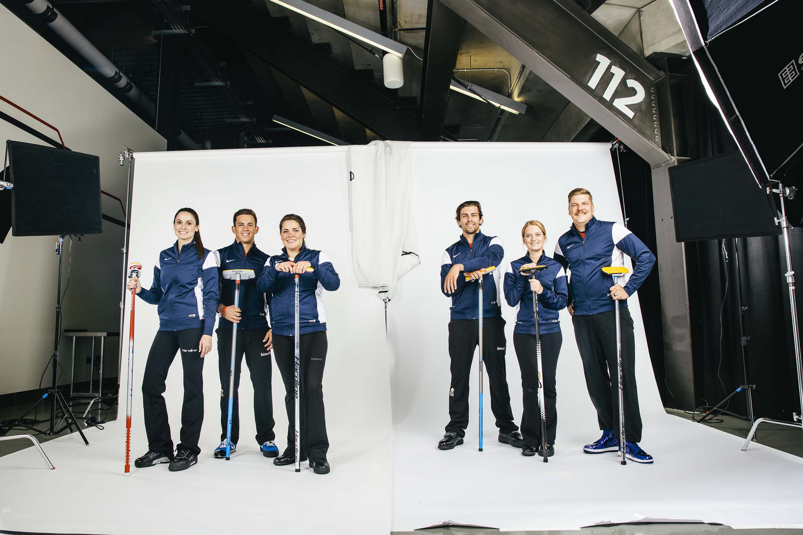 Members of the USA Curling team