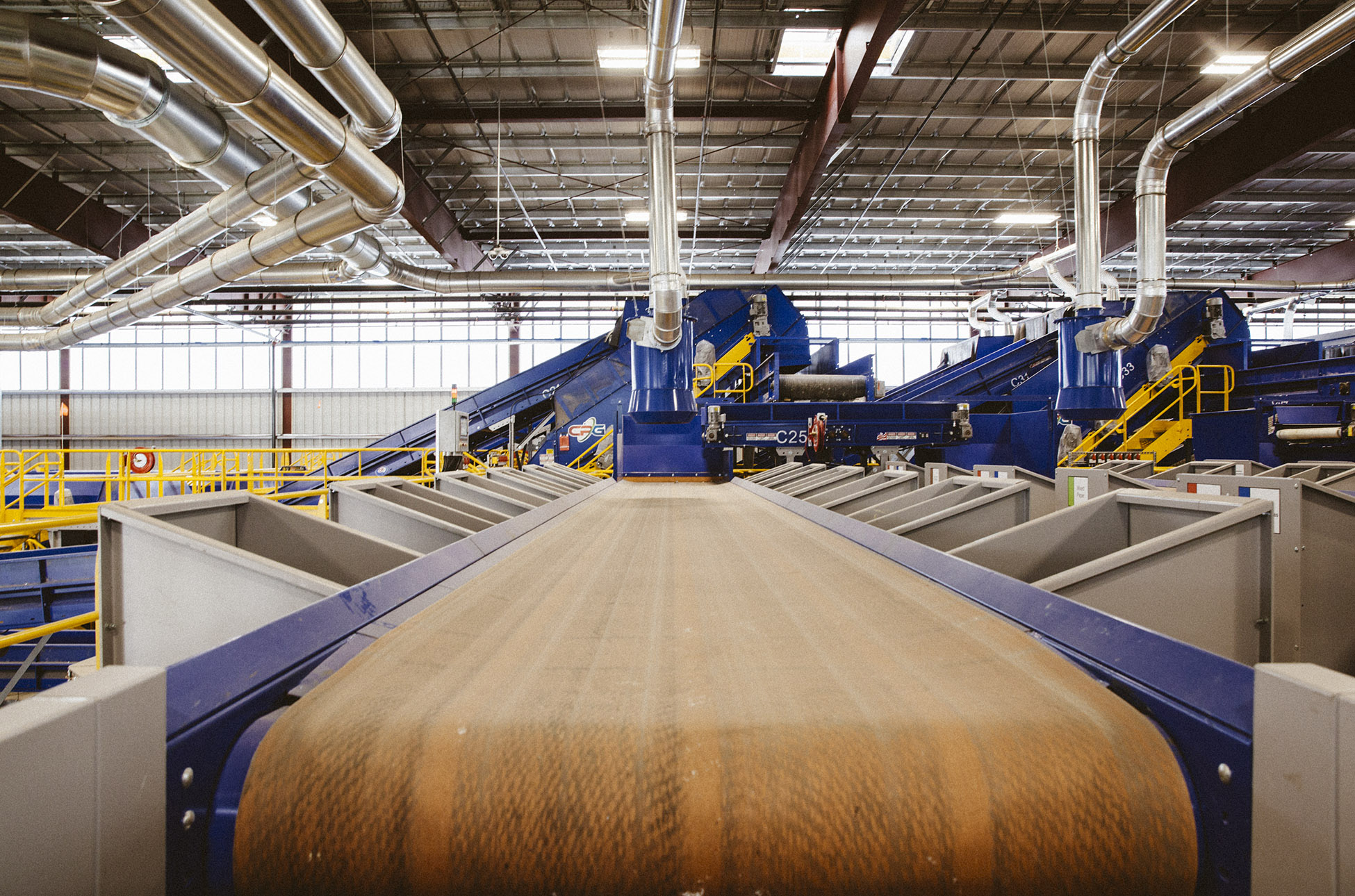 Republic Services collects and processes more than 5 million tons of recyclables a year.