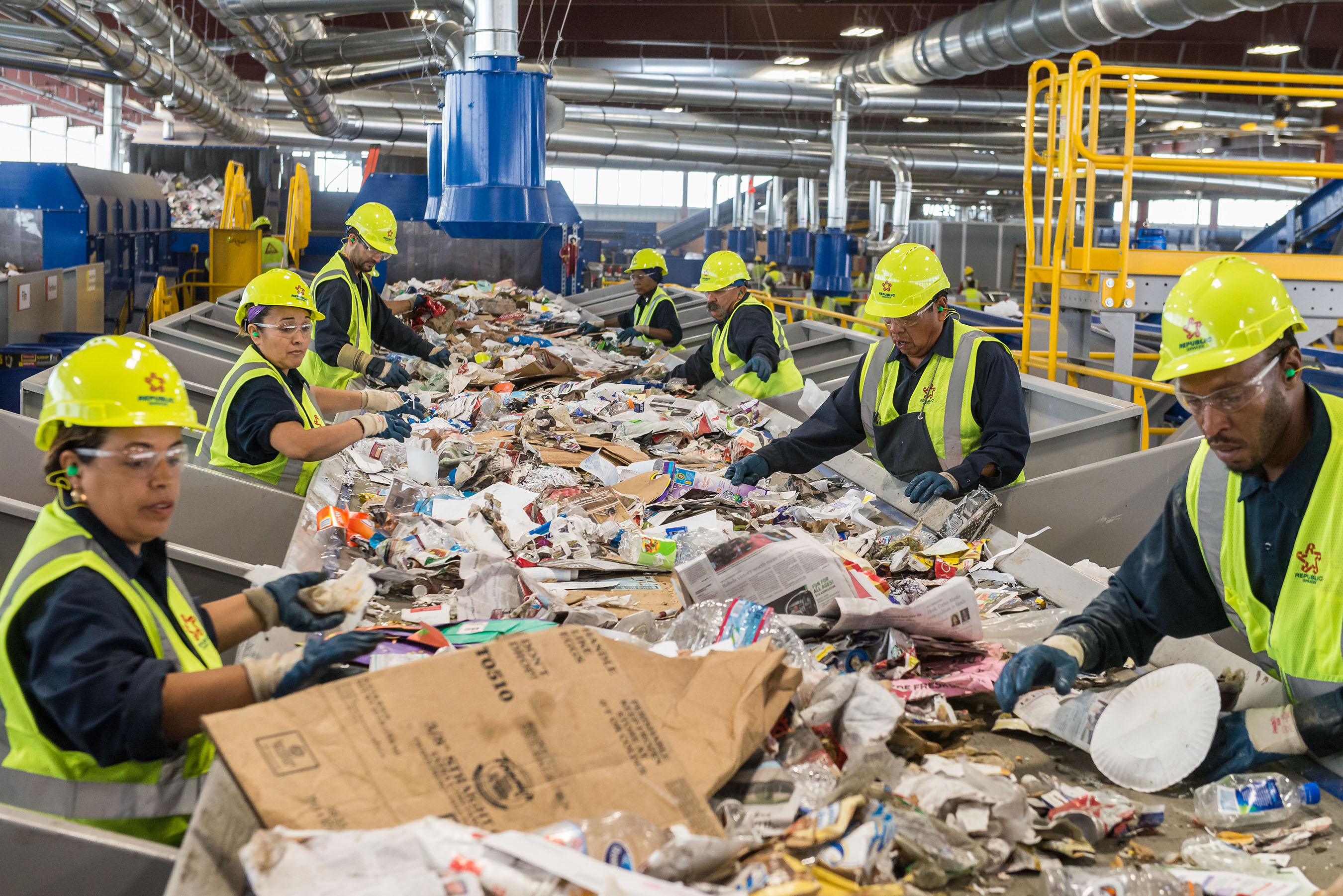 Republic Services Recycling Facility