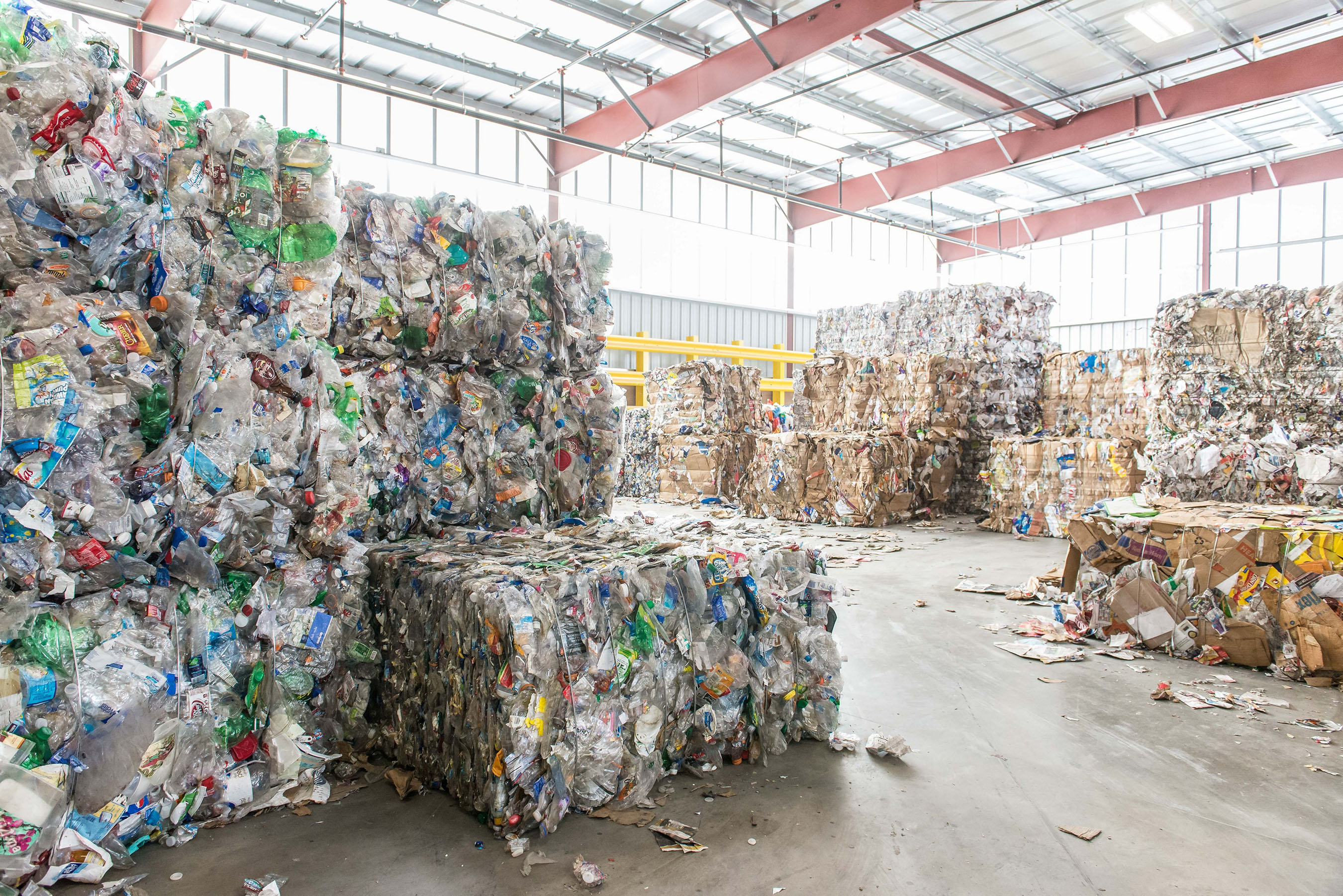 Republic Services Recycling Bales