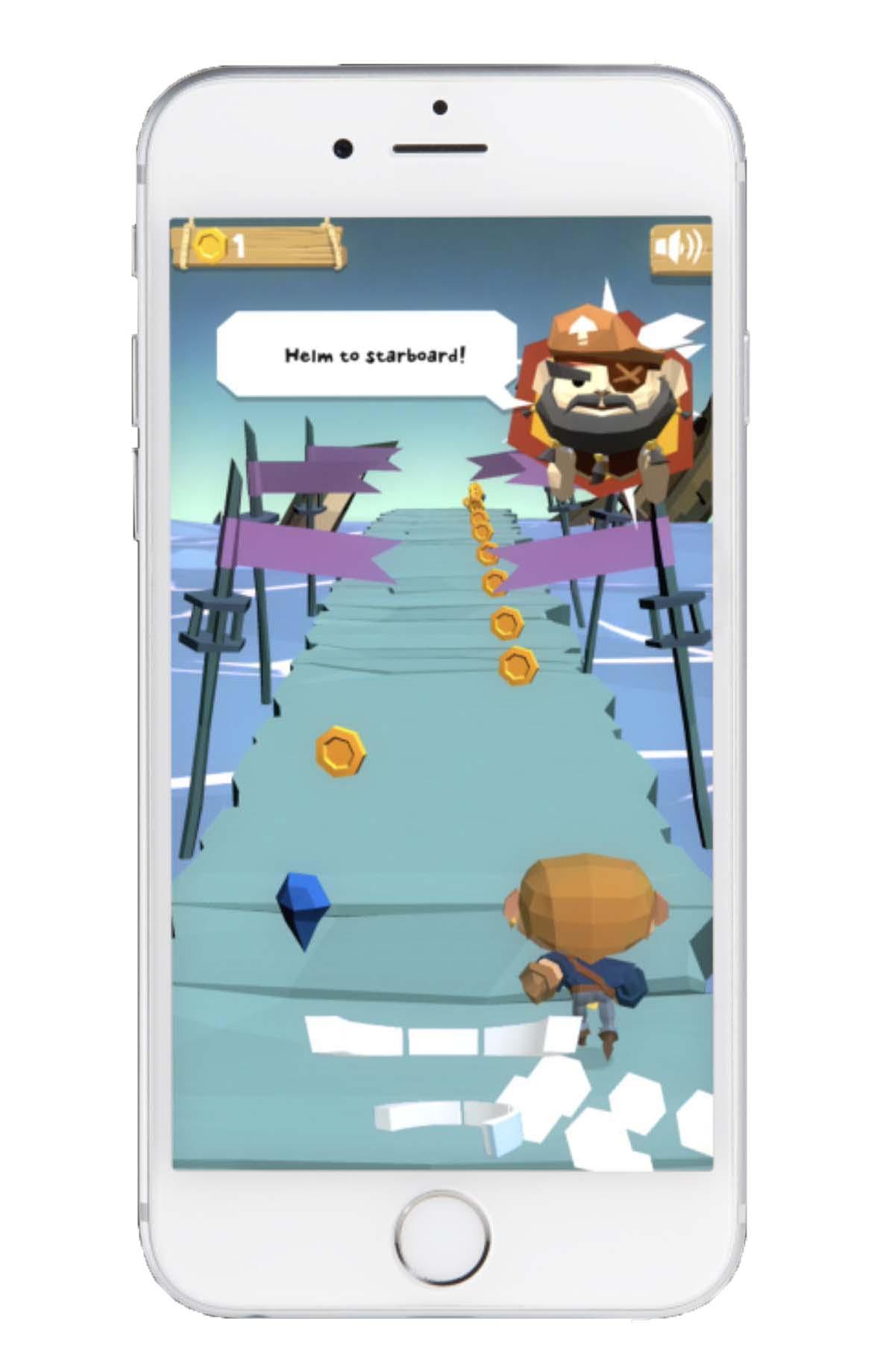 Colgate Connect App Pirate Game
