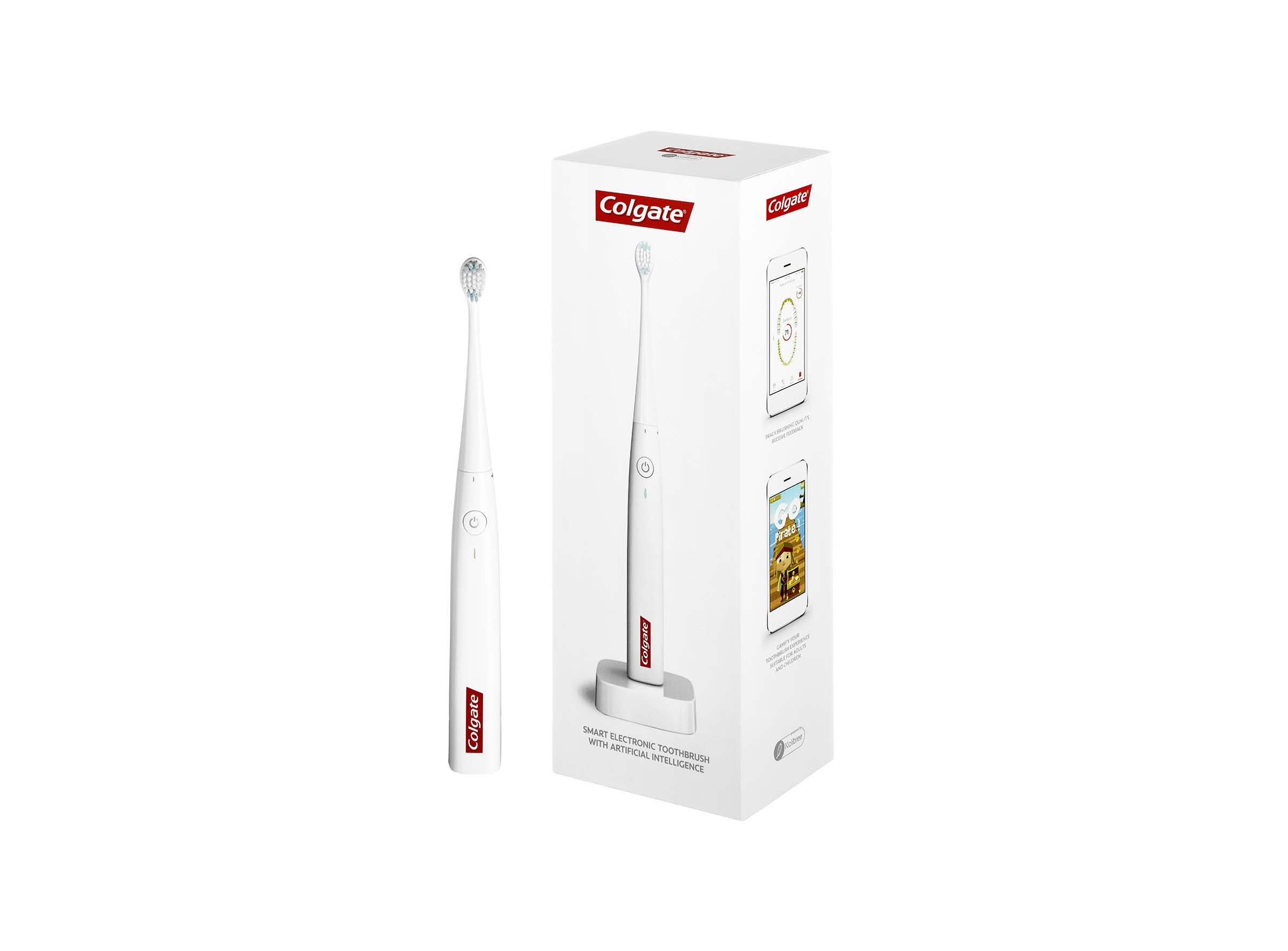Colgate® Smart Electronic Toothbrush E1 with Artificial Intelligence