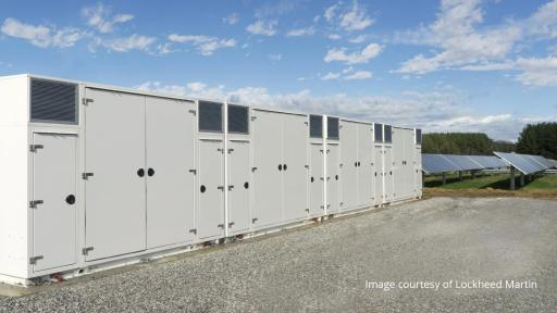 Commercial solar and storage containers