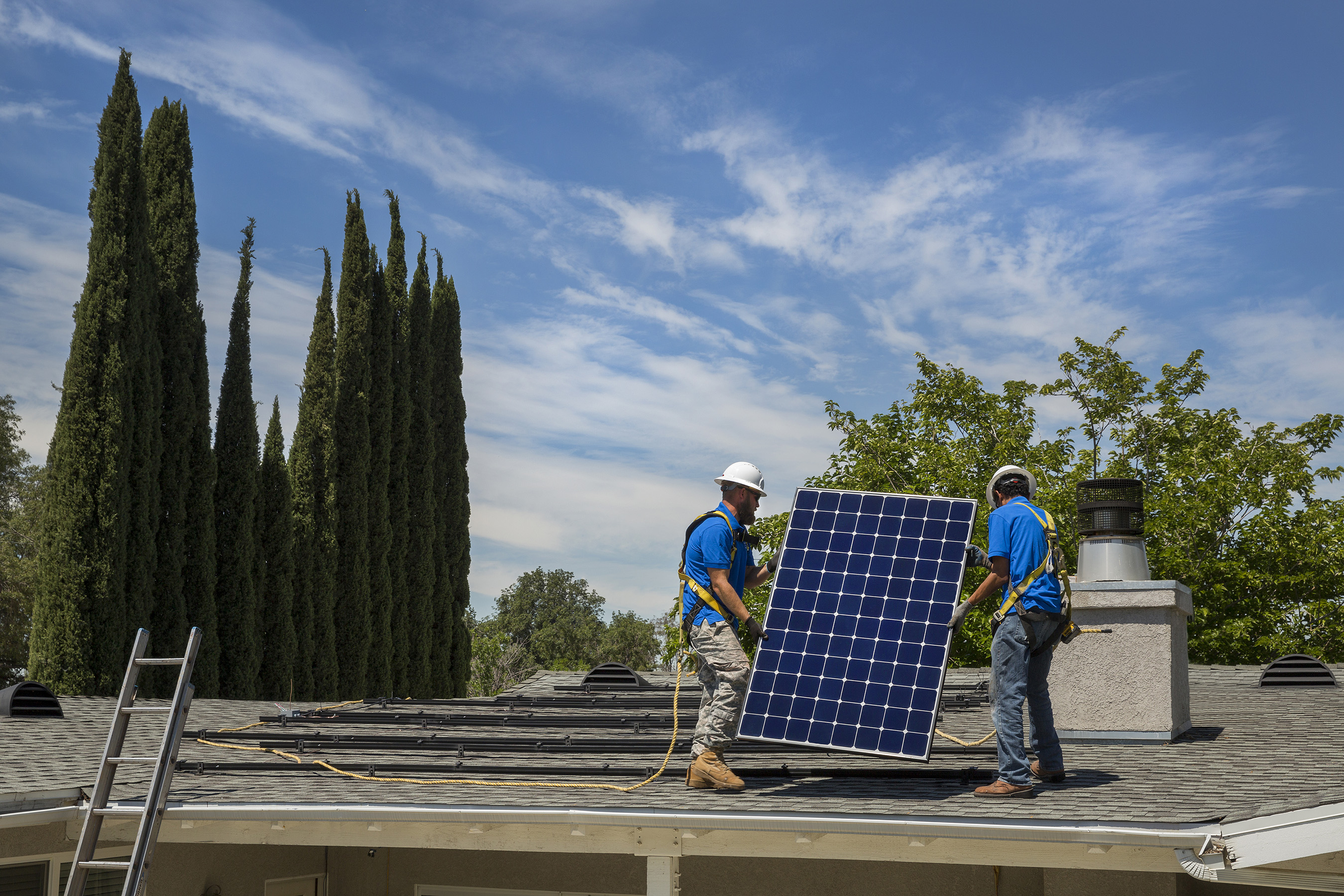 SunPower solar panels are 22.8 percent efficient and produce 45 percent more energy from the same space over the first 25 years.