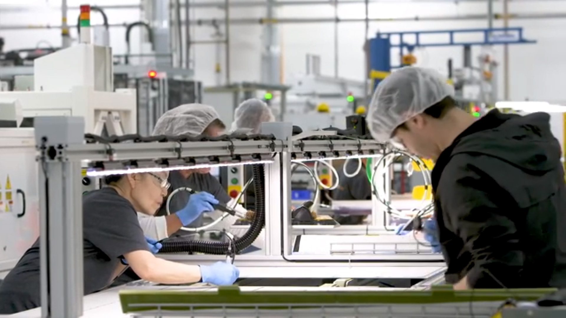 Home-grown innovation is at the core of these 19-percent efficient P-Series solar panels from SunPower, assembled at the company's U.S. manufacturing facility to meet strong, commercial market demand.