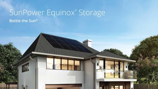Eligible Calif. customers can pre-order Equinox Storage beginning in November with installation expected in the first half of next year. SunPower expects to expand availability nationwide in 2020.