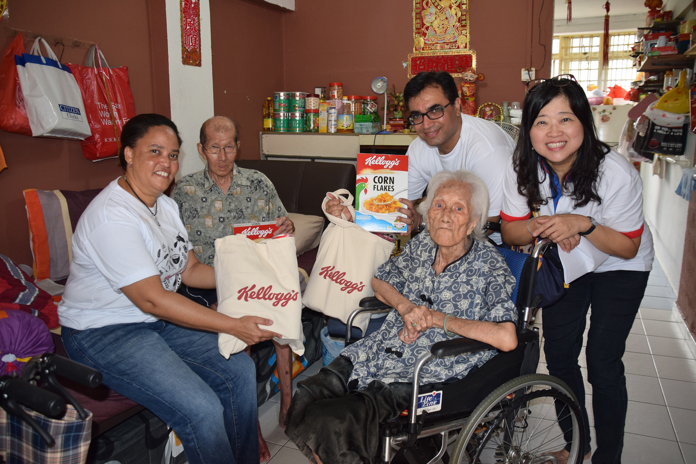 Kellogg employees achieved more than 7,400 employee volunteer days