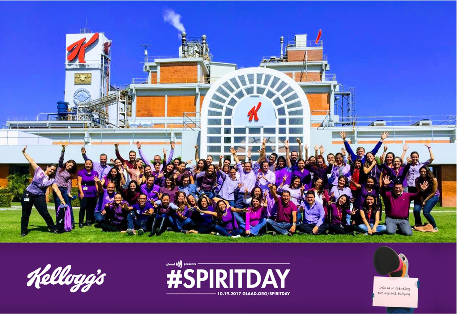 Kellogg celebrates Spirit Day