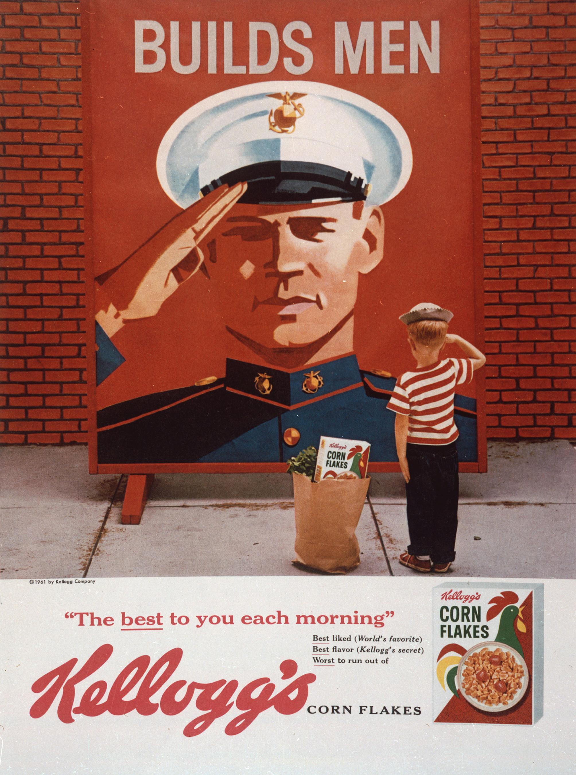 Kellogg patriotic ad