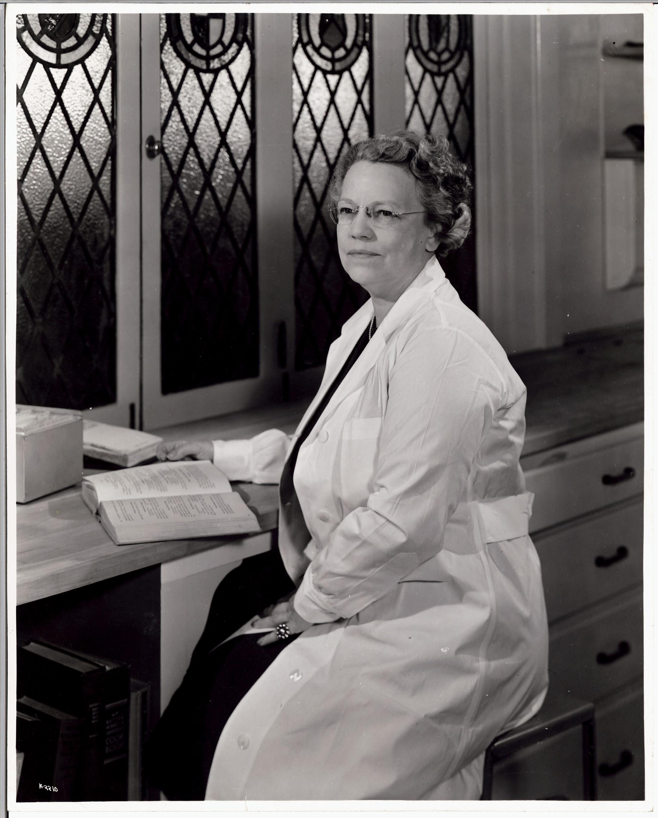 Mary Barber, Kellogg Director of Home Economics, 1946