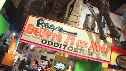 Image of the front of Ripley's Believe it or Not.