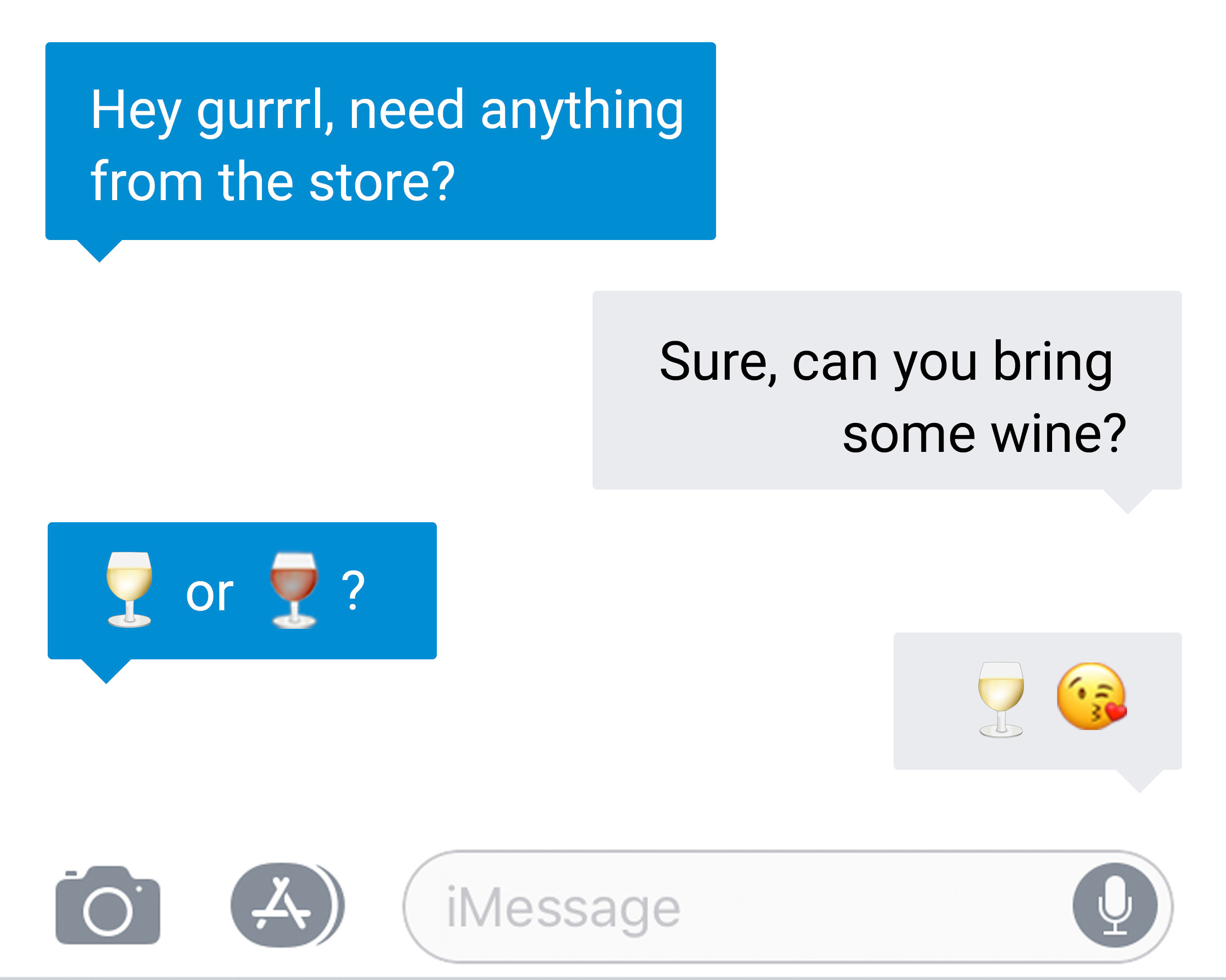Fetzer, the pioneering vintner behind Sundial Chardonnay and the nation's #1-selling Gewürztraminer, is making a recommendation that is both true to its roots and totally 2018: that the white wine glass take up its rightful place on the emoji keyboard.