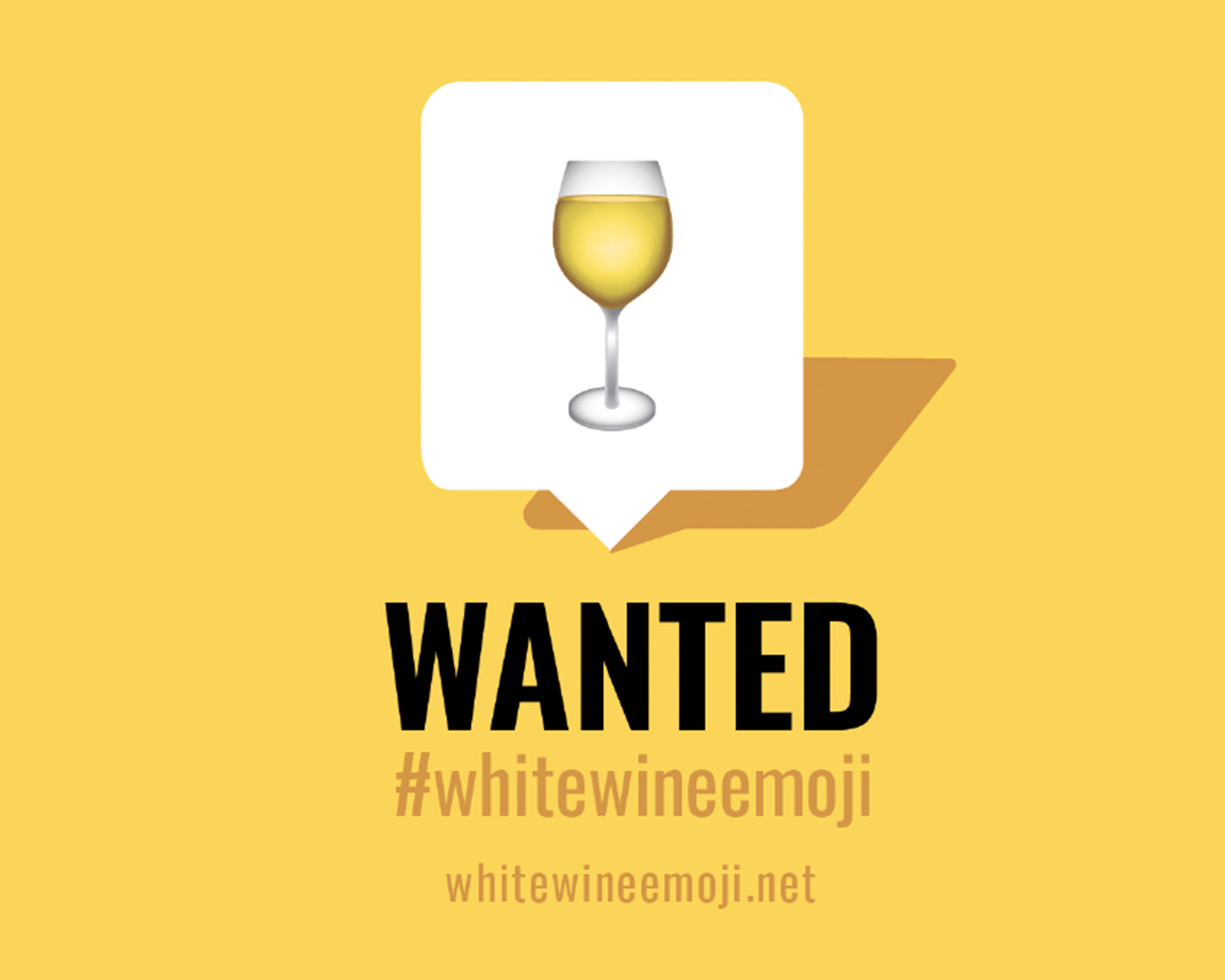 Fetzer Raises Its Glass to the Global Campaign for a #WhiteWineEmoji, brought to life with eye-catching
