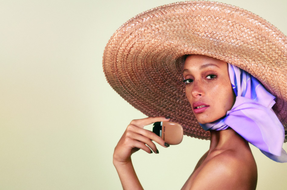 Marc Jacobs Beauty Debuts Adwoa Aboah Spring 2018 Campaign Image For New Shameless Foundation.