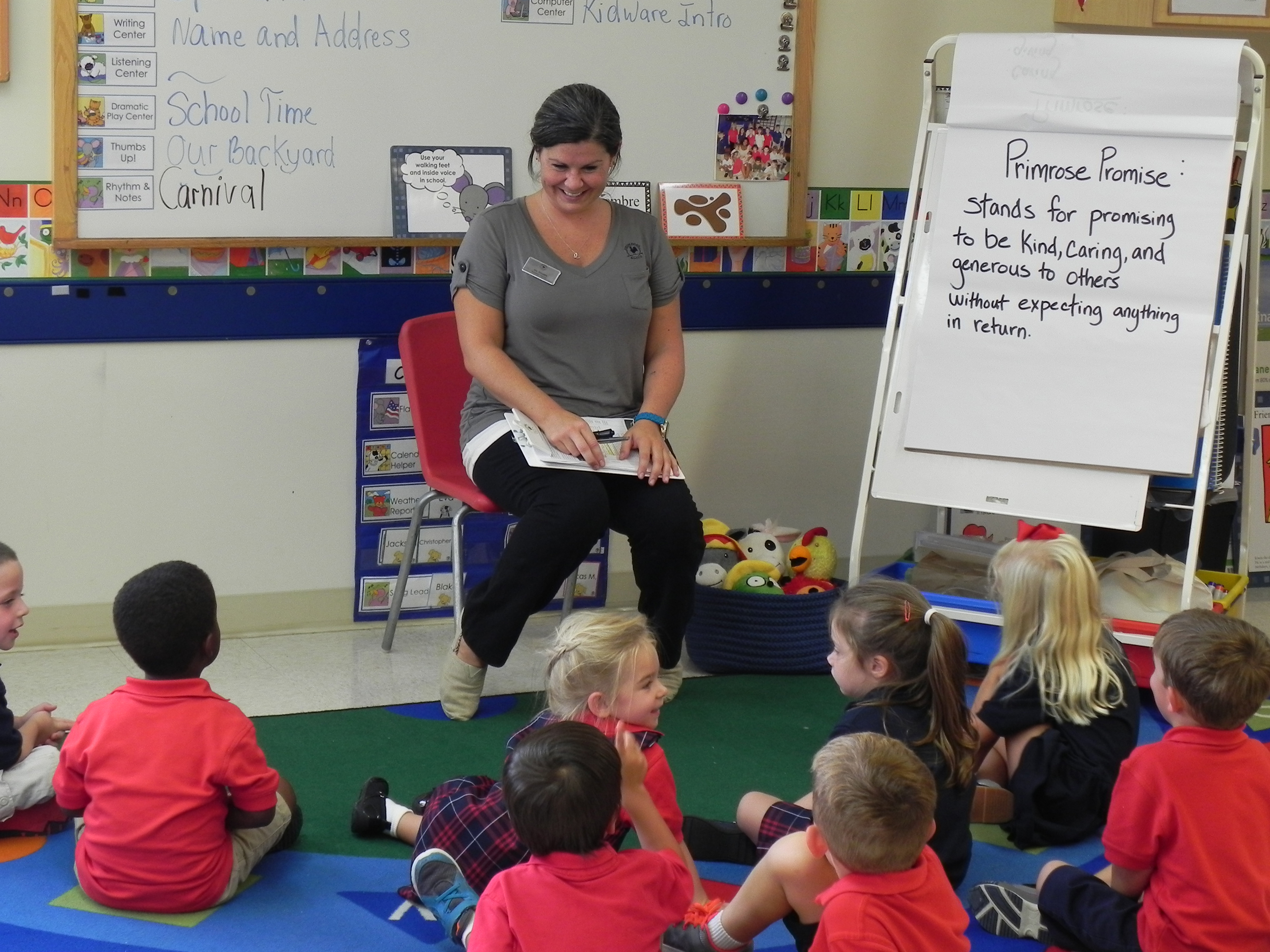 Primrose nurtures compassion and giving without expectation in children through its exclusive Balanced Learning® approach.