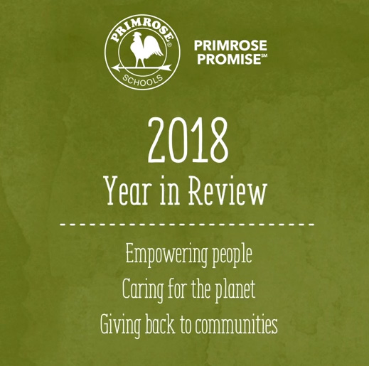 Nearly 400 Primrose schools across the country collectively raised a record-breaking $914,000 in 2018, surpassing the Primrose Promise(SM) fundraising record by 16.8 percent.