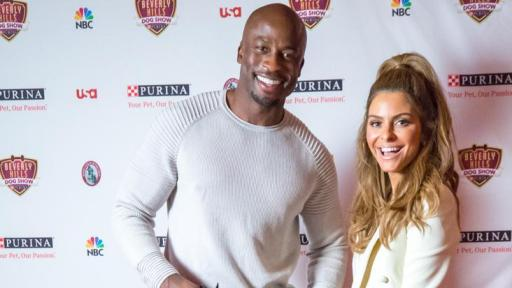 Maria Menounos and Taye Diggs
