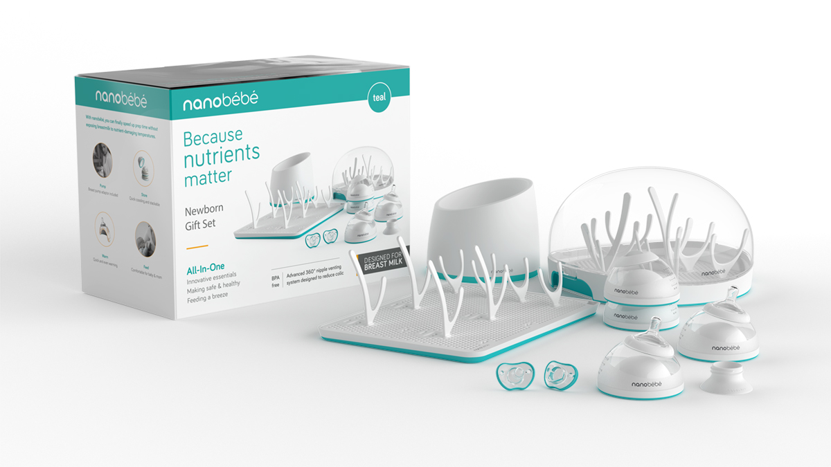 nanobébé worked with top designers to create an innovative product line that makes safe and healthy feeding easier for parents, while not compromising on convenience and style.