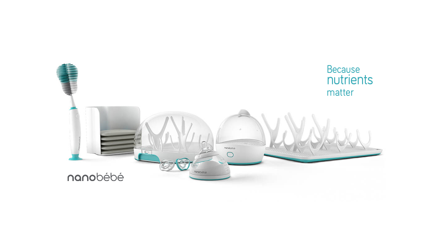 nanobébé launches a revolutionary infant feeding line for today's modern families. The much-anticipated sleek and modern ecosystem of health-focused feeding essentials for today's 21st century parents are poised to be the hottest baby registry items this year.
