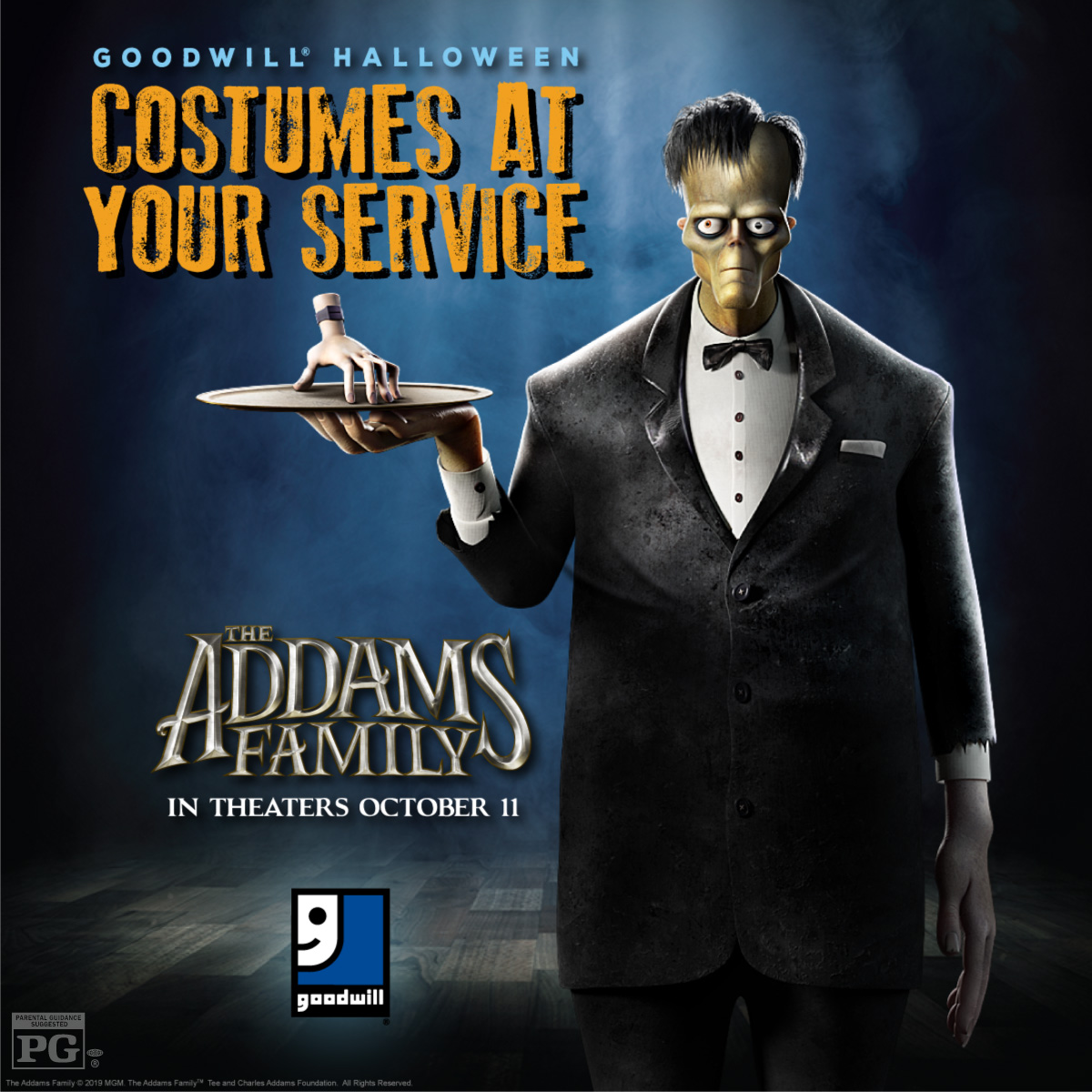 Goodwill® and The Addams Family Offer Creepy Inspiration