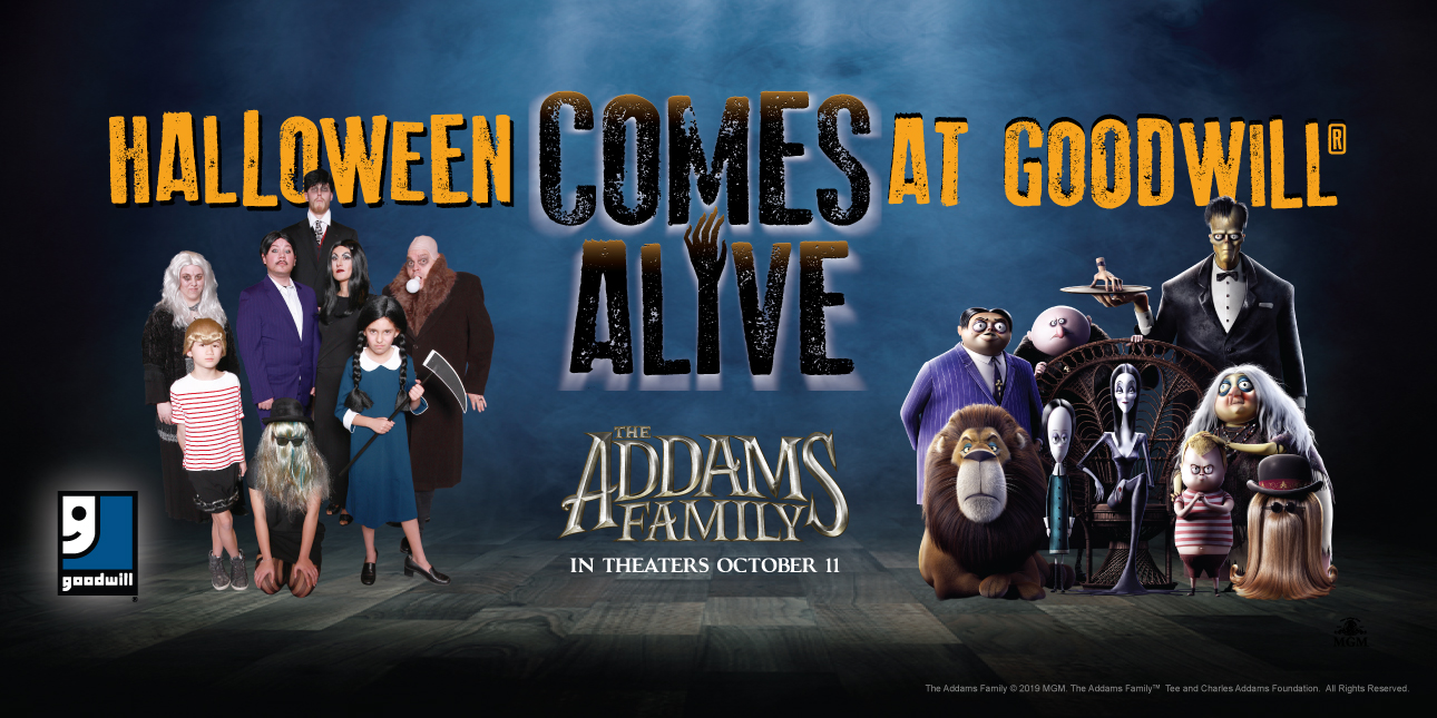 Goodwill® and The Addams Family Offer Cree...