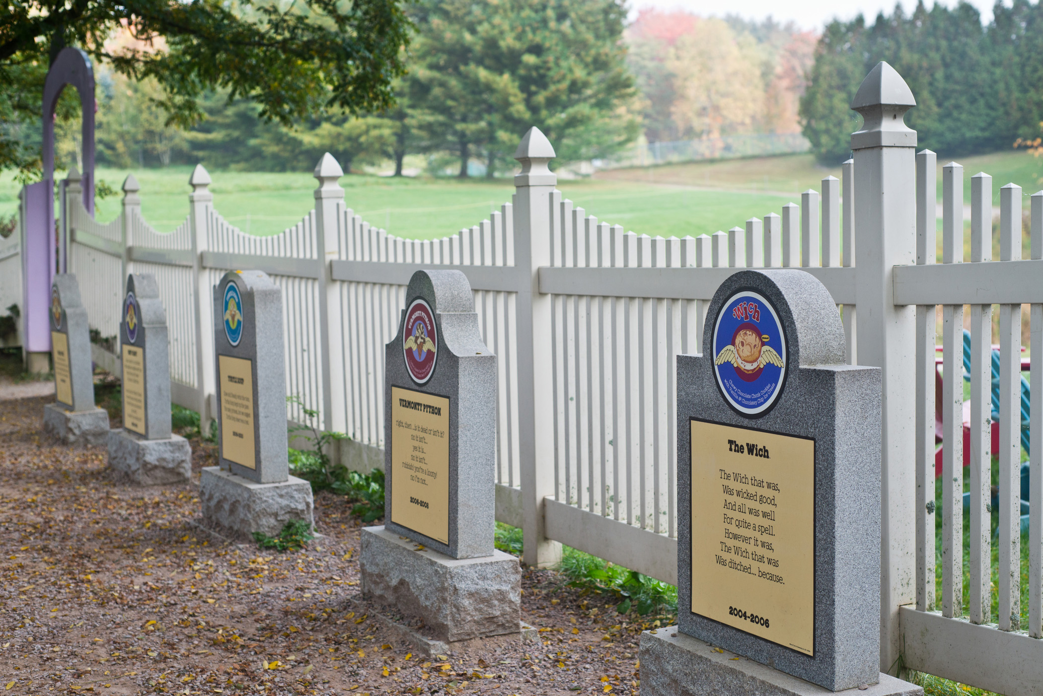 The Flavor Graveyard at the Ben & Jerry's factory in Waterbury is one of Vermont's biggest tourist draws.