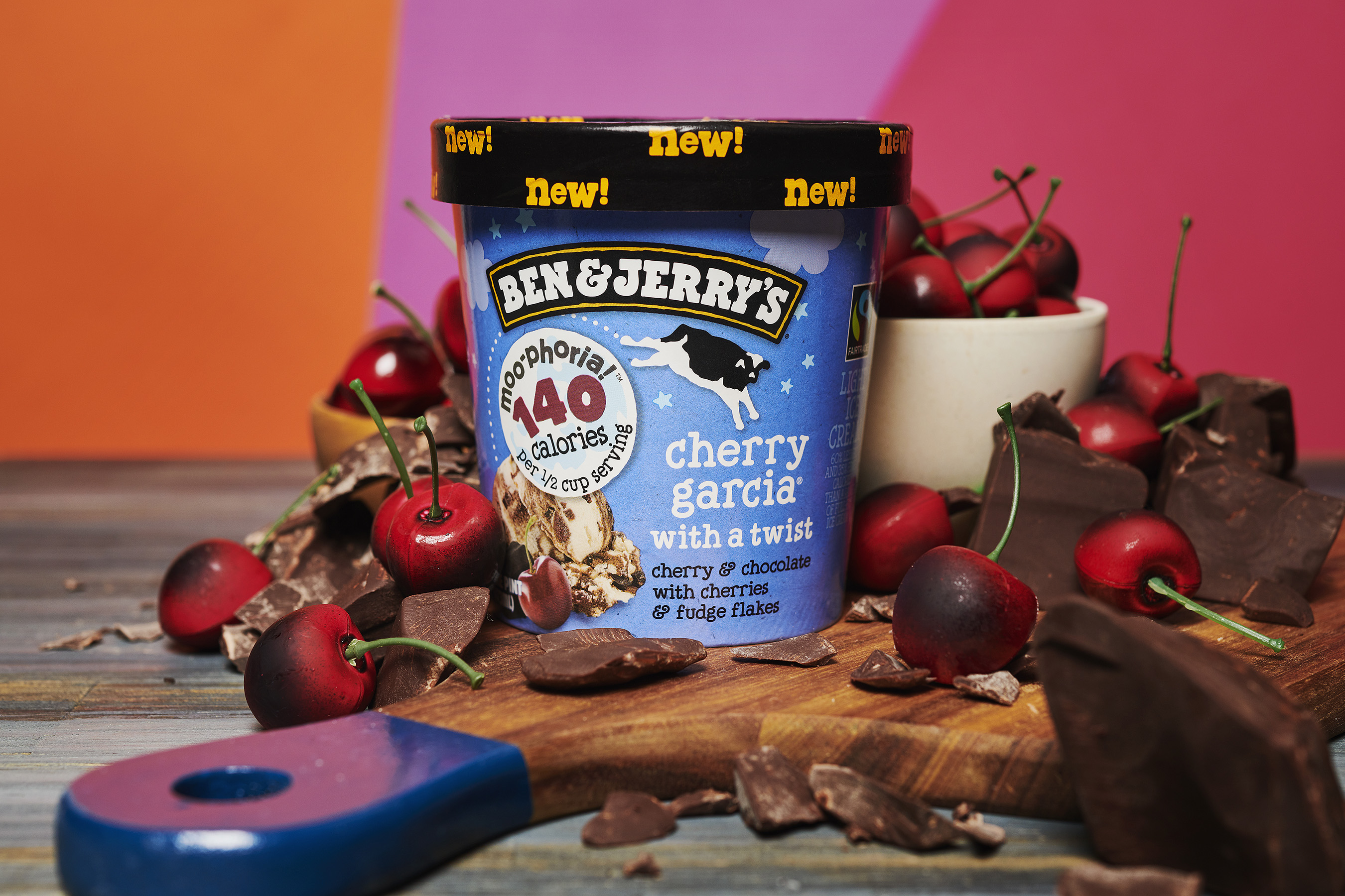 Lighten Up with Four More Flavors of Ben & Jerry's Moo-phoria Light Ice Cream