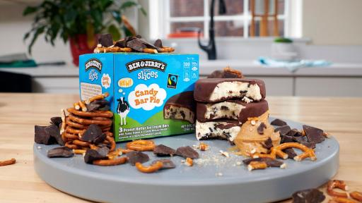 Candy Bar Pie Pint Slices