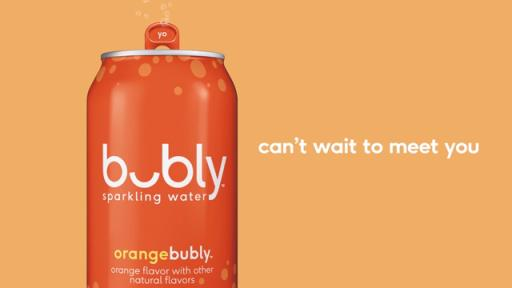 Oh Hi! Meet Bubly™ Sparkling Water And #Crackasmile